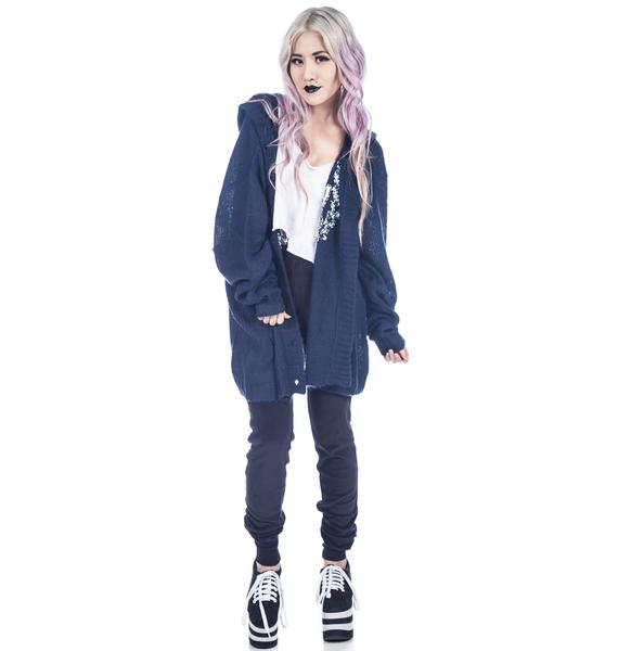 Wildfox Couture Boarding School Hooded Manhattan