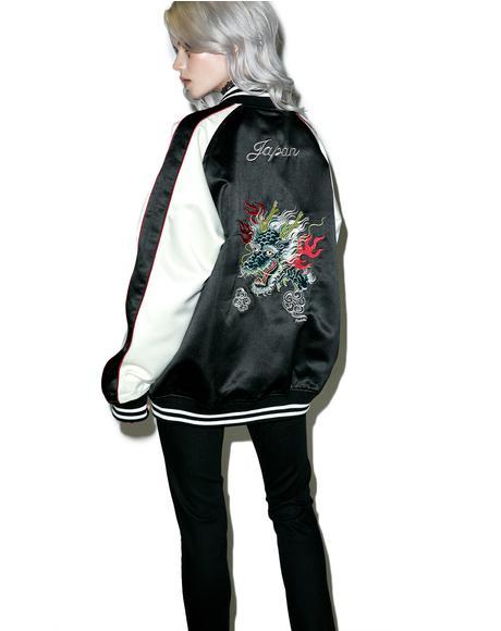 Ska Dragon Reversible Jacket