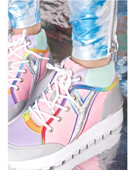 Tune Pastel Hi-Top Sneakers