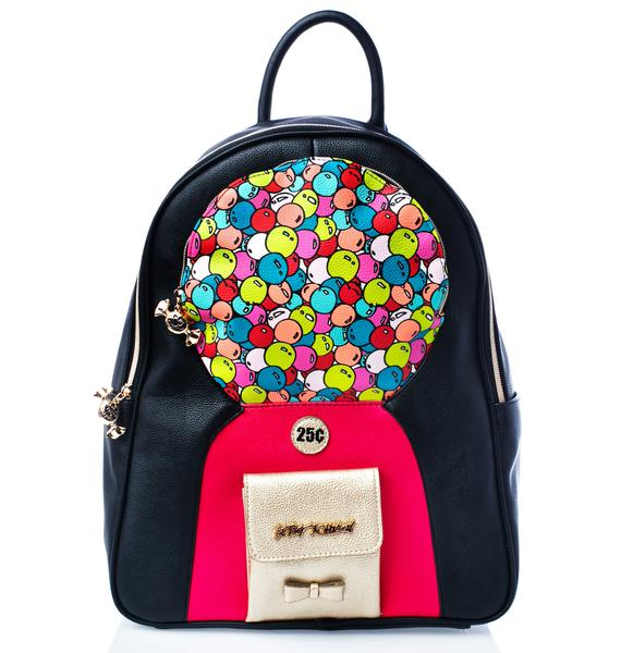 Betsey Johnson Bubblegum Backpack