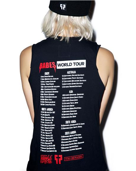 Babes Tour Tank