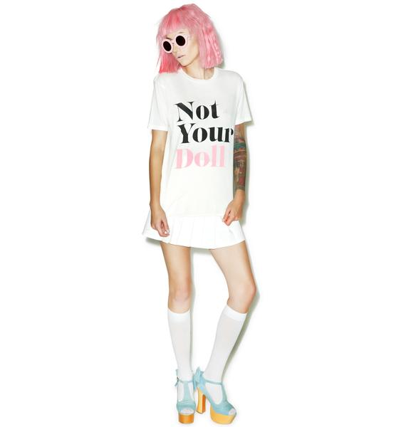 Wildfox Couture Not Your Doll Vintage Tee