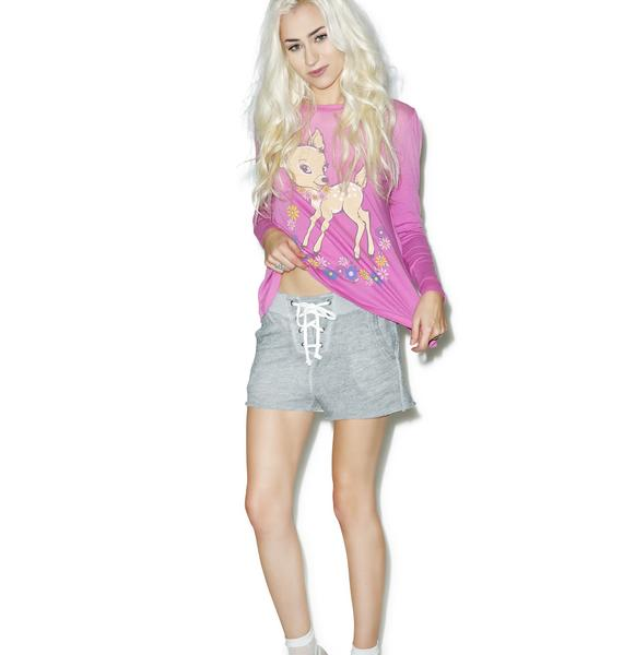 Wildfox Couture Football Shorts