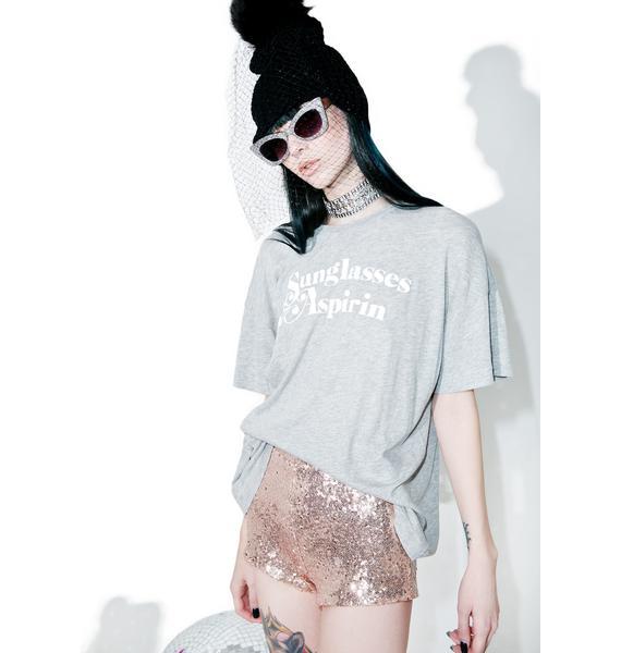 Wildfox Couture Sunglasses & Aspirin Tee
