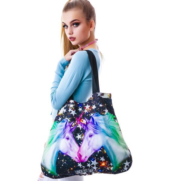 Twilight Unicorn Reversible Tote Bag