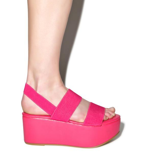 Dashin' Dashia Platform Sandals