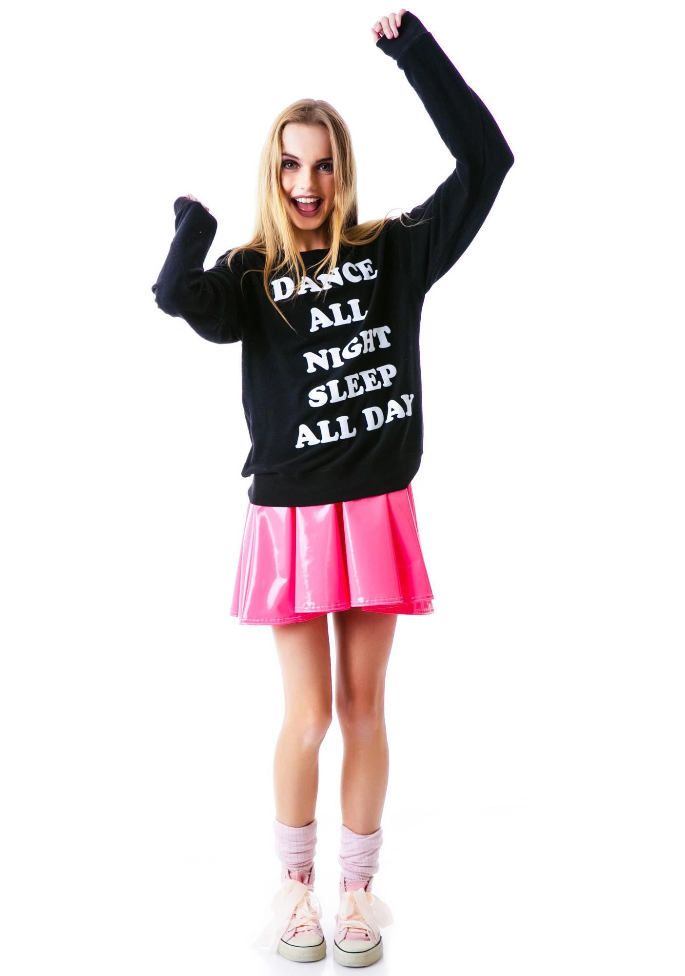 Wildfox Couture Dance All Night Baggy Beach Jumper