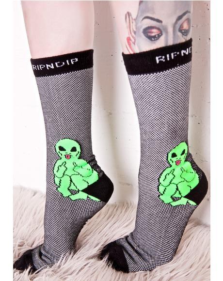 Lord Alien Socks