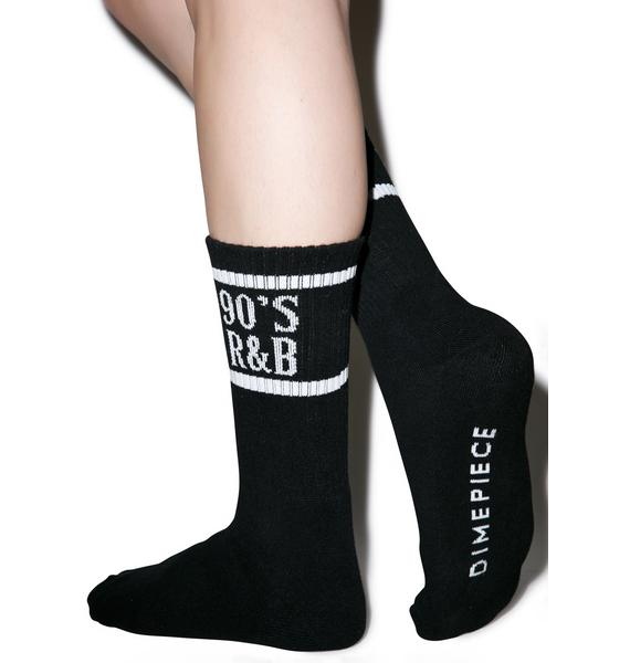 Dimepiece 90s R&B Socks