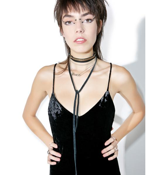 Vidakush Wrap Around Lariat Choker