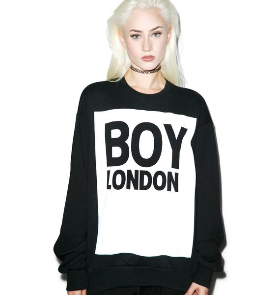 BOY London Boy London Standard Box Sweatshirt