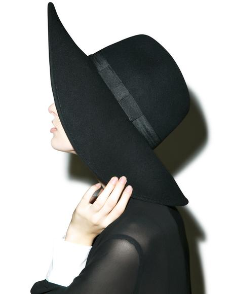 Witch Brim Hat