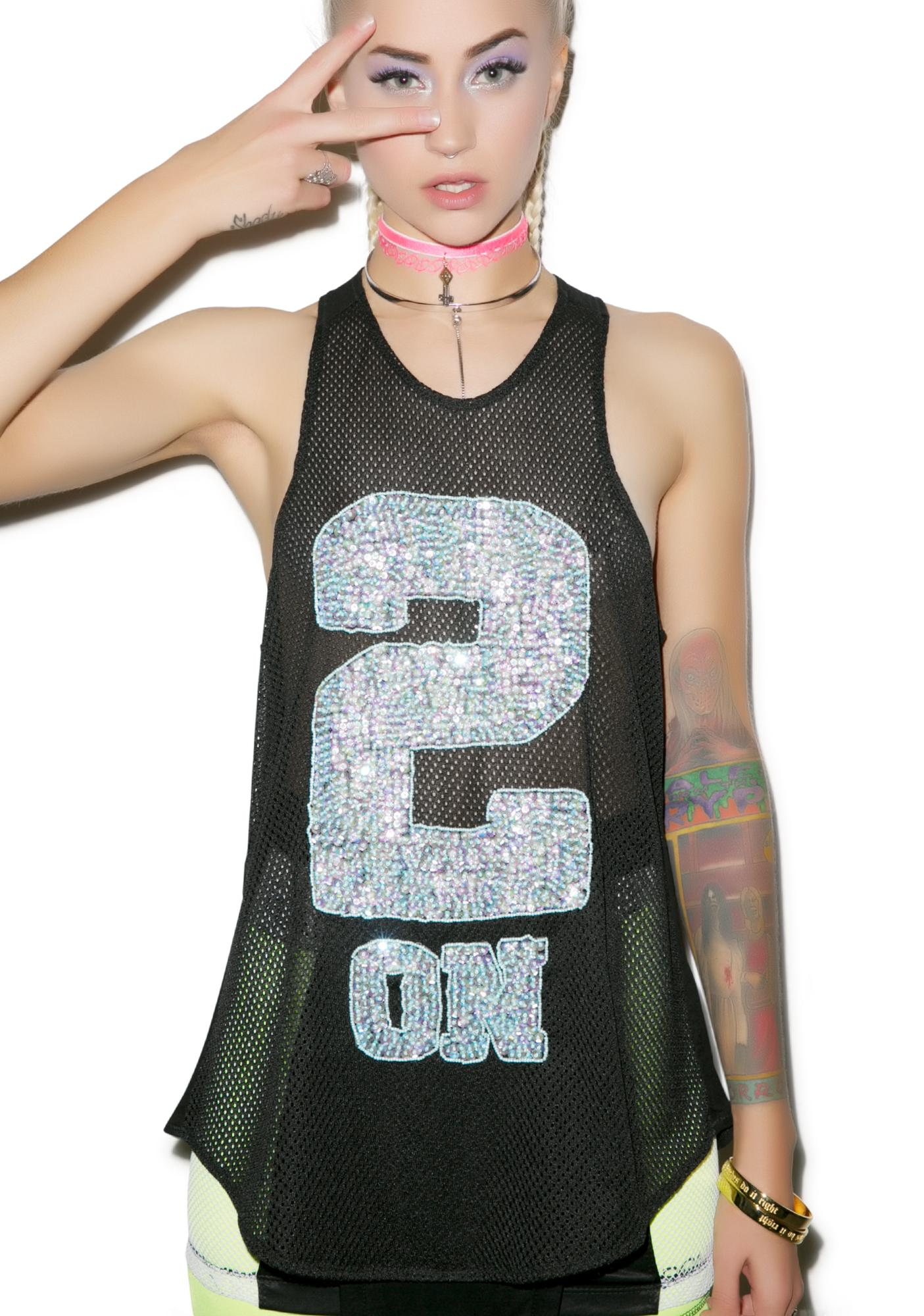 This Is A Love Song 2 On Sequin Singlet