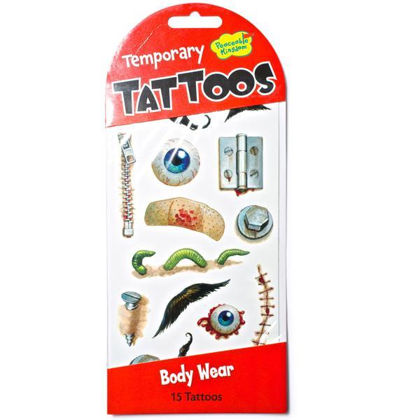 Bruisin' Temporary Tattoos