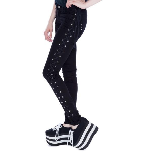 Tripp NYC Side Lace Jeans