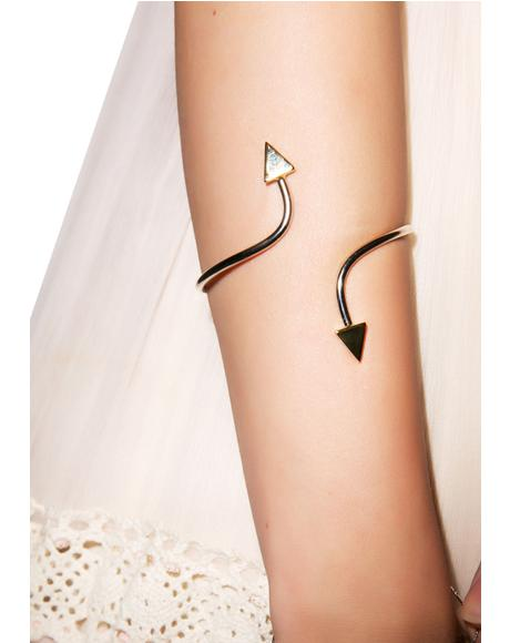 The Starlight Silver Cuff