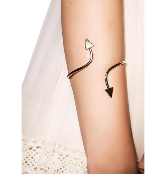 Vanessa Mooney The Starlight Silver Cuff