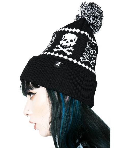 Skelly Knit Hat