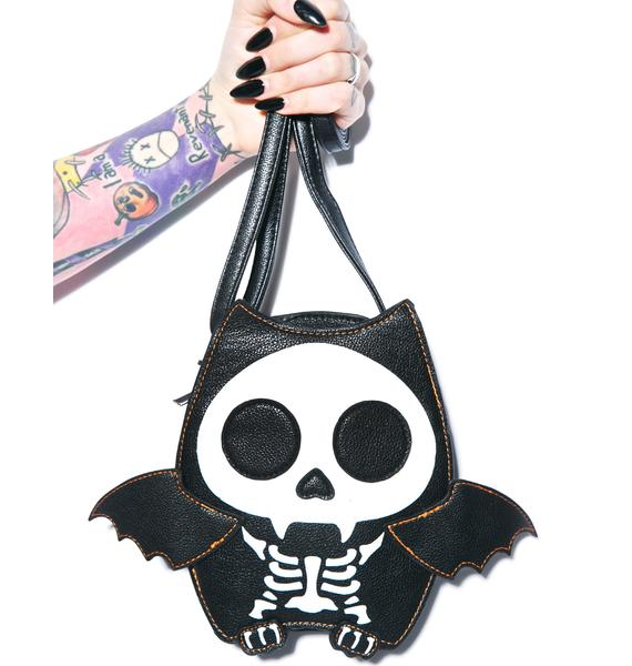 Batty Skeleton Bag