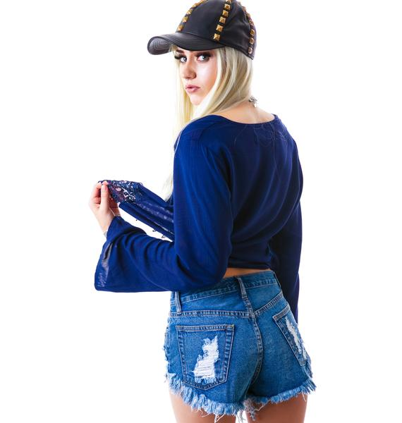 Arianna Denim Shorts