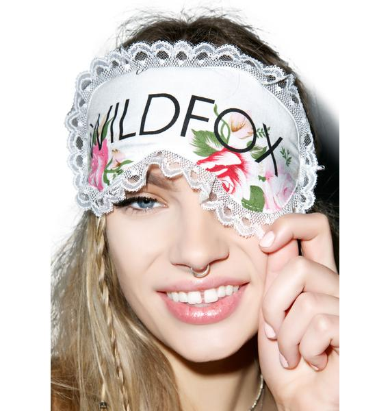 Wildfox Couture Lover's Bouquet Eye Mask