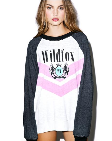 Wildfox Academy Kim's Sweater