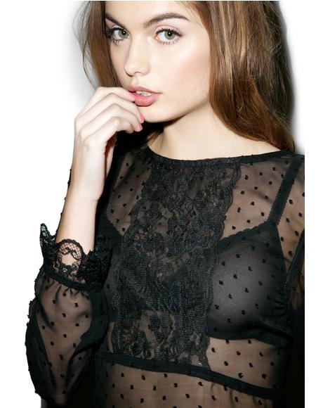 Ursula Mesh Dress