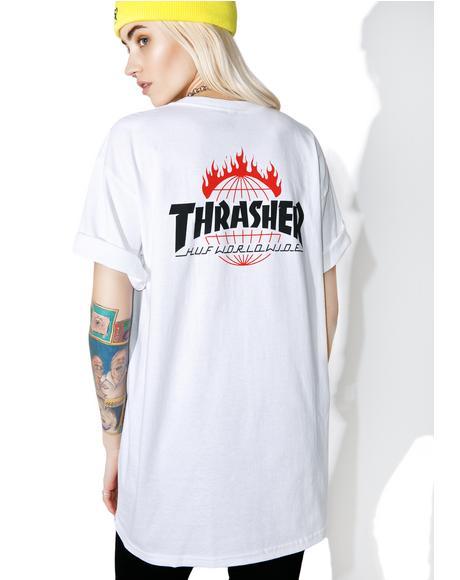 X Thrasher Tour De Stoops Tee