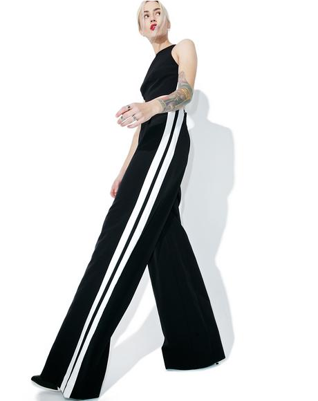 Track-Stripe Trouser