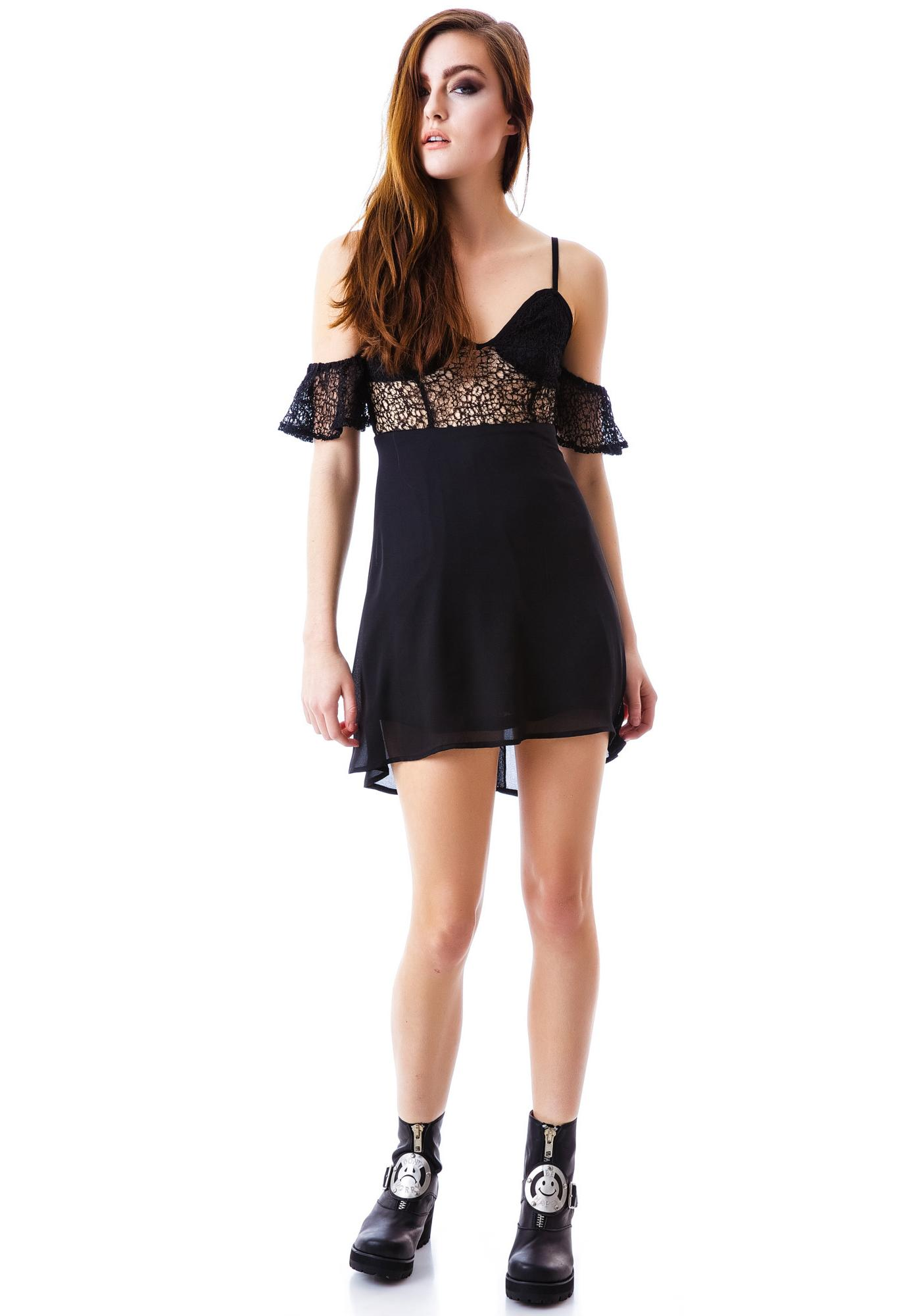 Mystic Mini Lace Dress