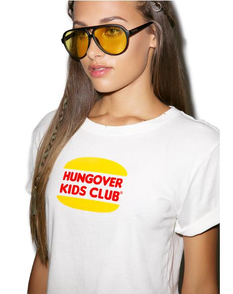 Hungover Kids Club Crop Top