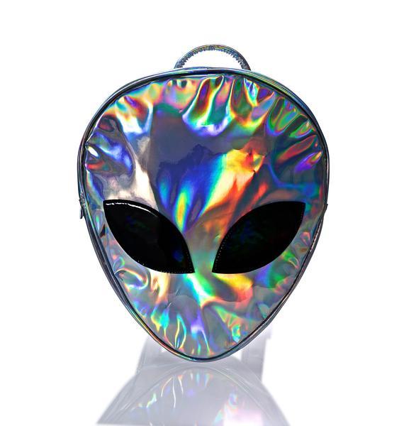 Disturbia Alien Backpack