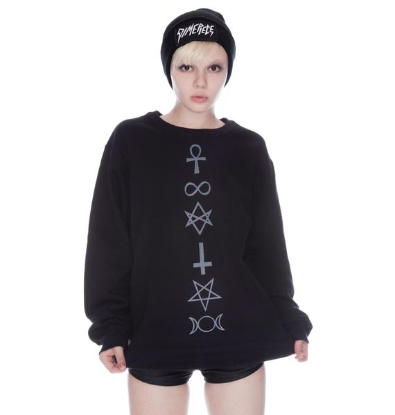 Shop W.A.S. Symbolism Sweater
