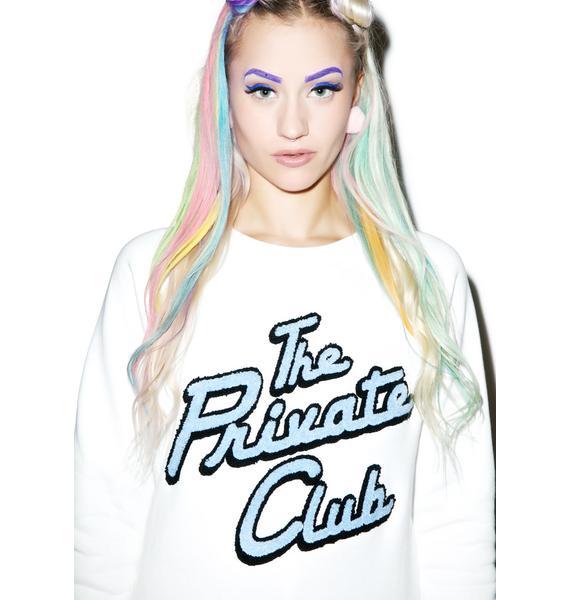 Joyrich Private Club Crewneck