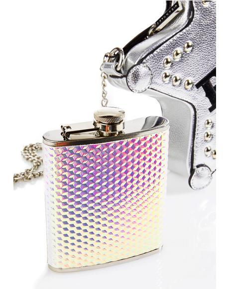 Druzy Flask