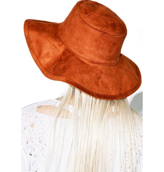 Earthen Wide Brim Hat