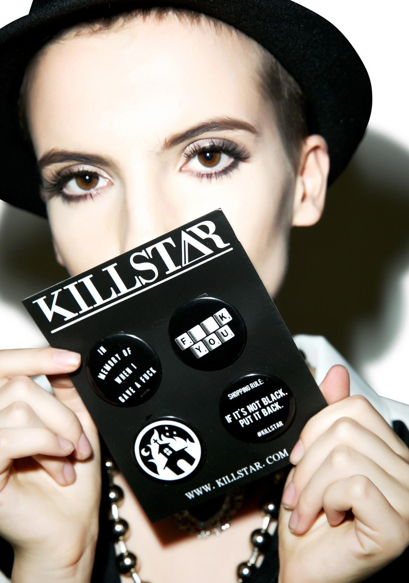 Killstar Pin Pack NO.2