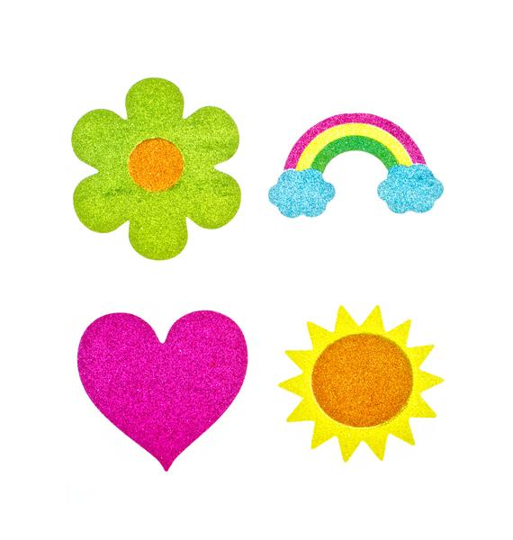 Wicked Hippie Warm Vibes Glitter Tattoo Stickers