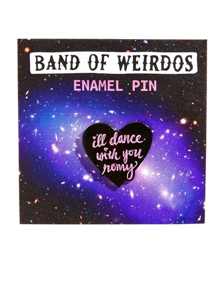 I'll Dance With You Enamel Pin