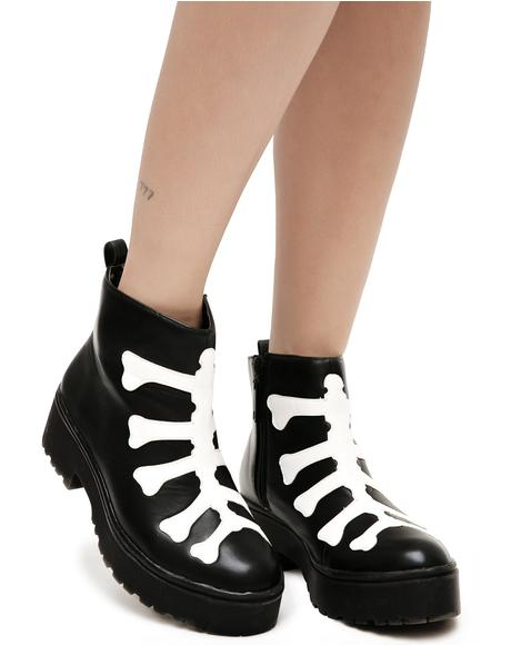 Wishbone Heavy Sole Boots