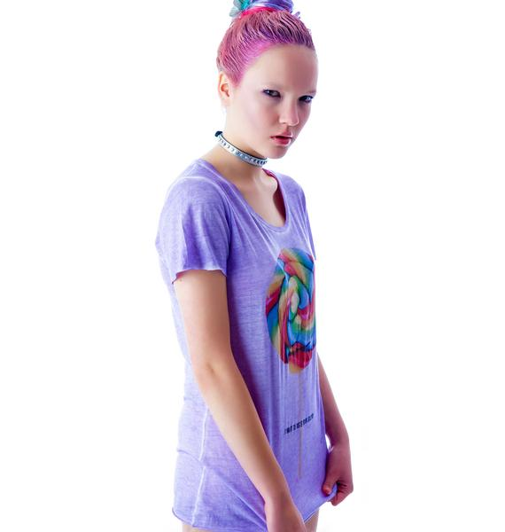 VooDoo Rainbow Lolly Scoop Neck Tee