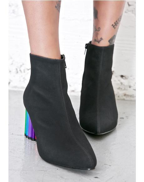 Rainbow Road Boots