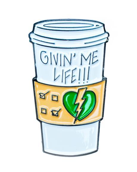 Givin' Me Life Pin