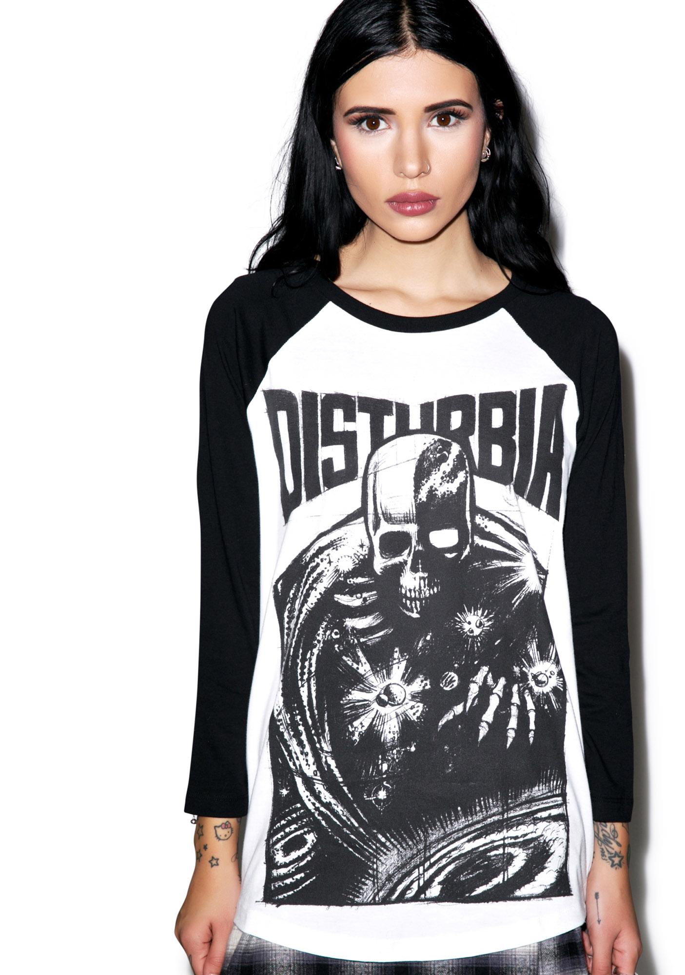Disturbia Doom Baseball Tee