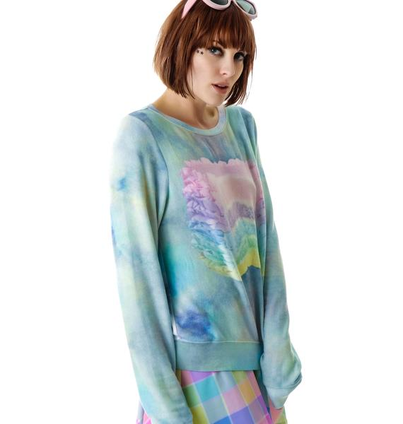 Wildfox Couture Dreaming of Cake Baggy Beach Jumper