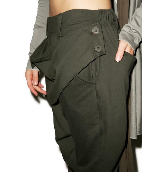 MNML Dust Drop Crotch Pants