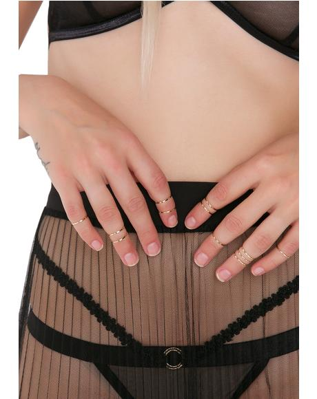 Crave Your Touch Ring Set