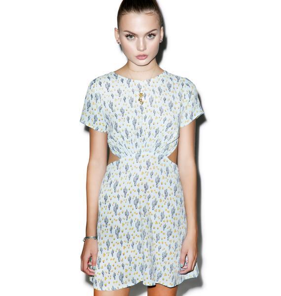 For Love & Lemons Mojavi Mini Dress