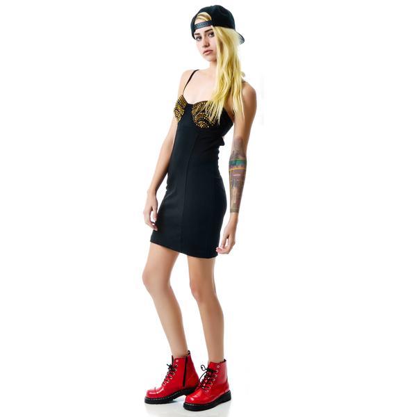 Stud Magnet Dress