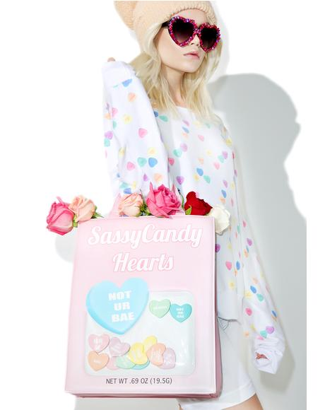 Sassycandy Hearts Bag